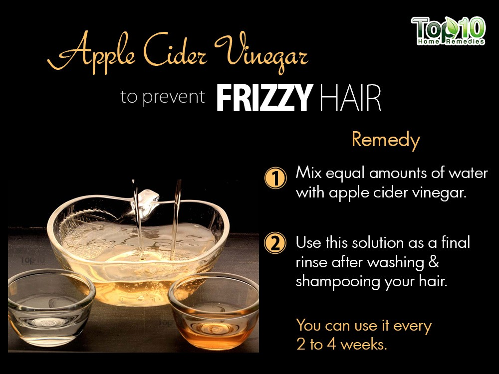 Natural Ways To Make Your Hair Less Frizzy