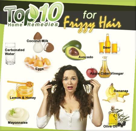 How To Get Rid Of Frizzy Hair Natural Remedies