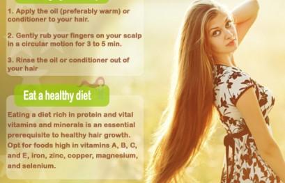 grow hair faster tips
