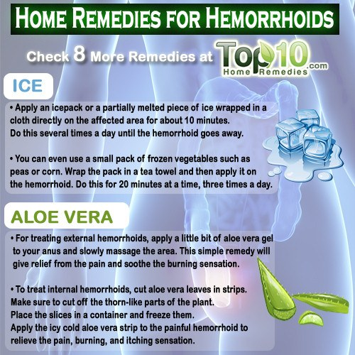Hemorrhoids Natural Remedies That Work