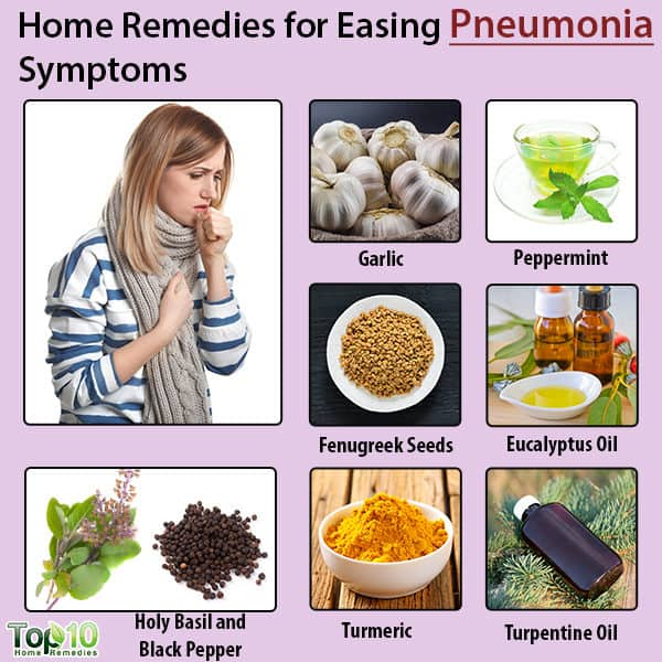 home remedies easing pneumonia symptoms