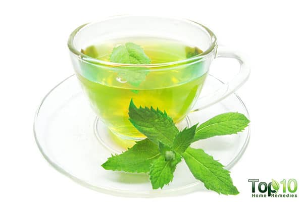peppermint reduces pneumonia