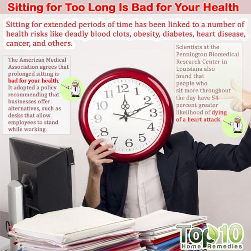 sitting health hazard
