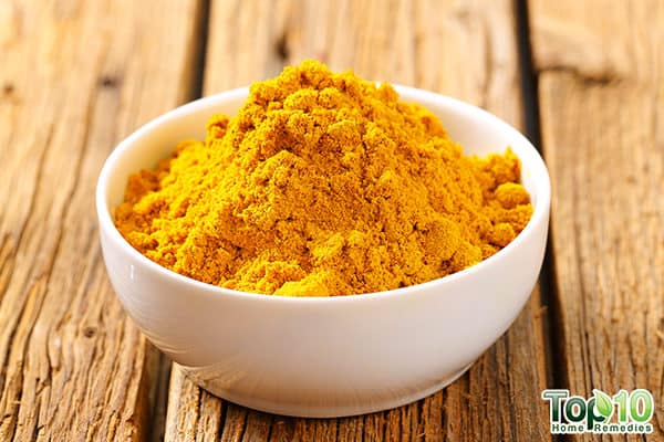 turmeric to treat pneumonia