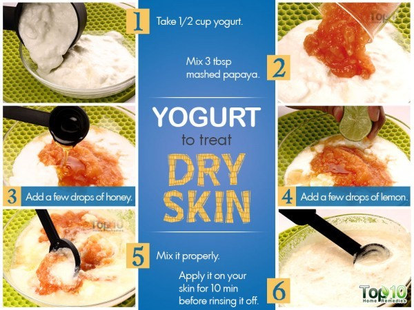 ypgurt remedy for dry skin