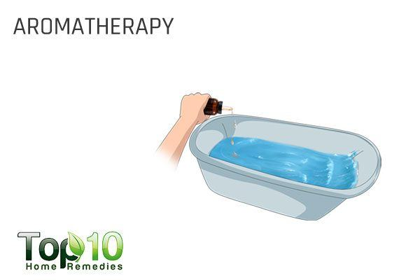 aromatherapy for water retention