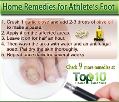 Natural Remedies For Severe Athlete S Foot