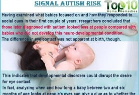 Decline in Baby's Eye Contact May Signal Autism Risk