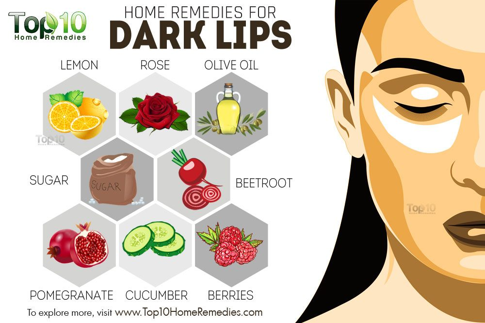 Home remedies for dark lips top 10 home remedies How to get rid of red lipstick stain