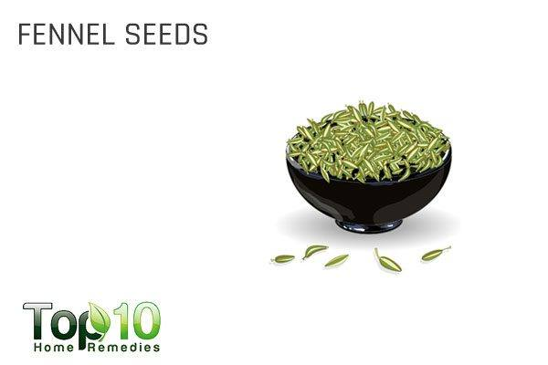 fennel seeds for water retention