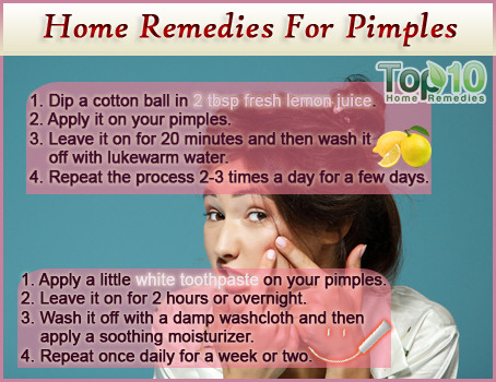 Pimple treatment at home for dry skin zinc