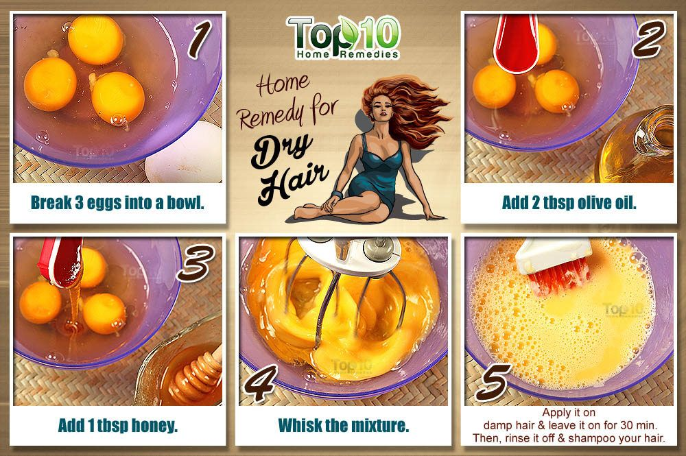 Home Remedies For Dry Hair Top 10 Home Remedies