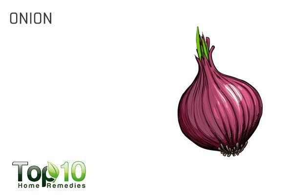 onion for water retention
