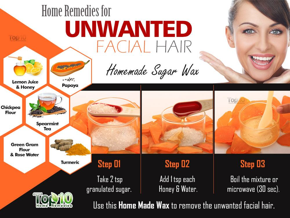 Natural cures womens facial hair