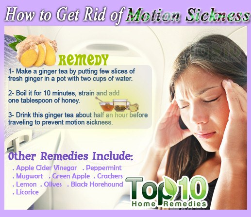 How to Get Rid of Motion Sickness