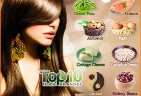 Top 10 Superfoods for Healthy Hair