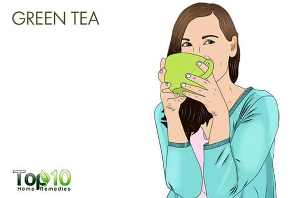 Green tea for detoxification