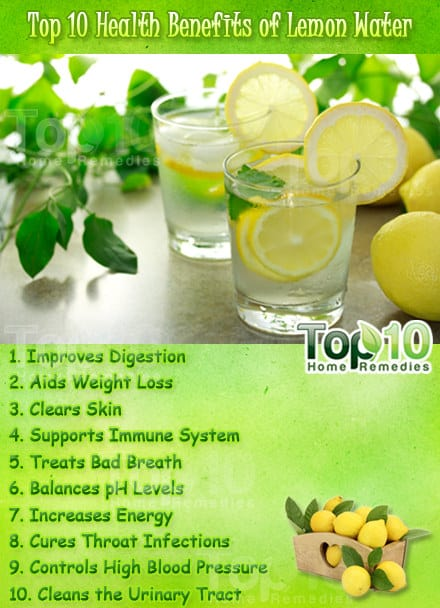 Top 10 Health Benefits Of Lemon Water Page 3 Of 3 Top