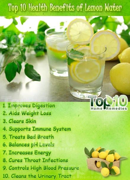 Top 10 Health Benefits Of Lemon Water Page 3 Of 3 Top