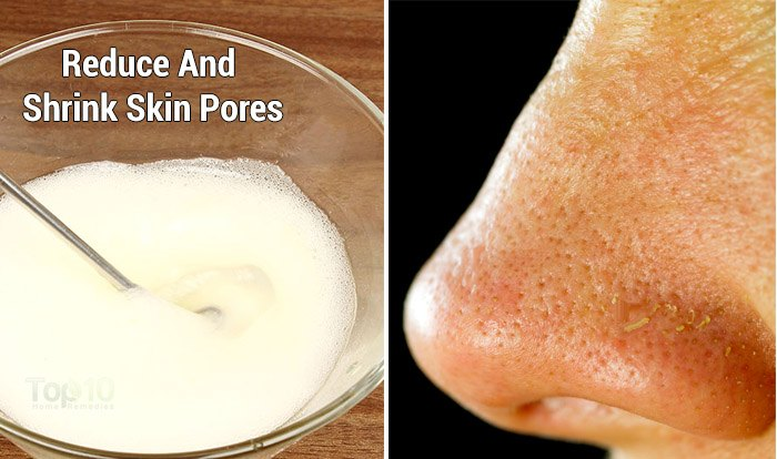 Natural Products That Shrink Pores