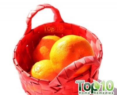 orange peel face mask step 1