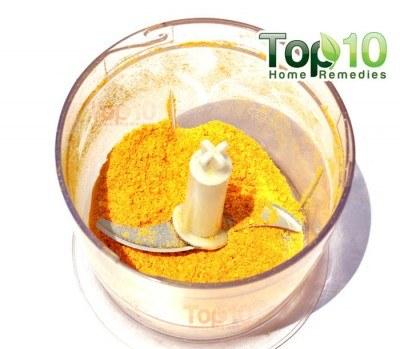 orange peel face mask step 5
