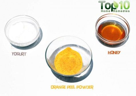 orange peel mask