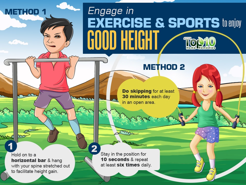 How to Increase Your Height | Top 10 Home Remedies