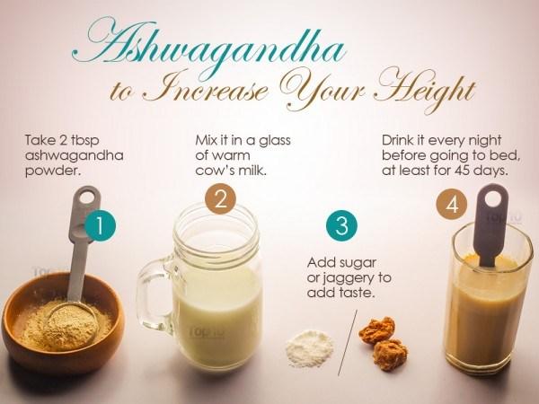 ashwagandha to increase height