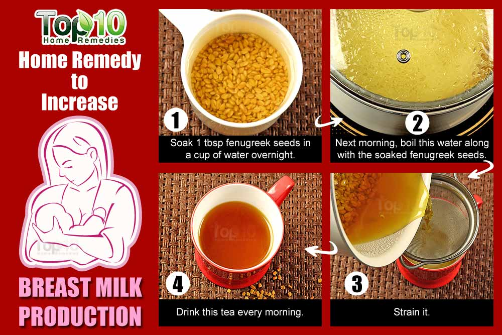 Home Remedies To Increase Breast Milk Naturally
