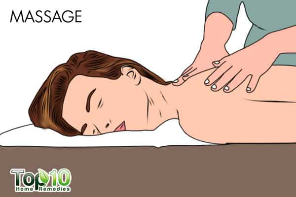 body massage for anxiety