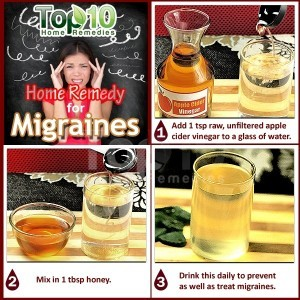 migraines home remedy