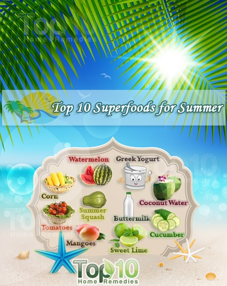 top 10 superfoods for summer