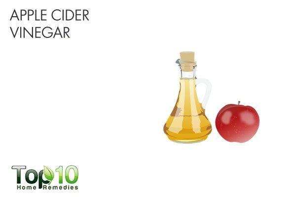 apple cider vinegar for stomach flu
