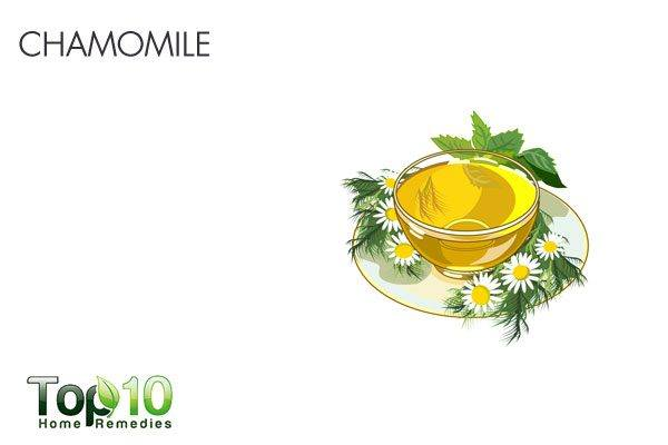 chamomile for stomach flu
