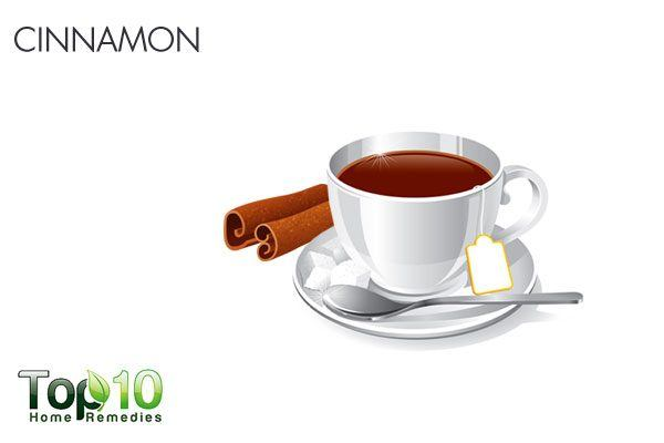 cinnamon for stomach flu