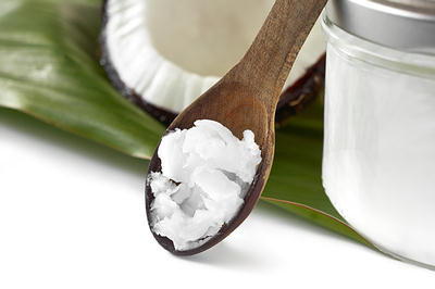coconut oil spoon