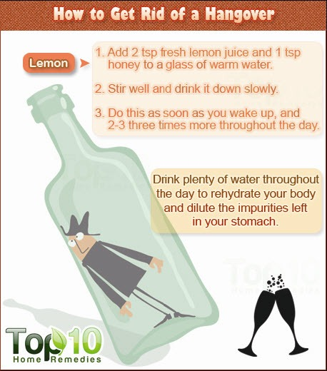 how to get rid of hangover