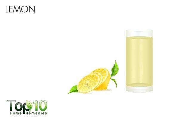 lemon for stomach flu
