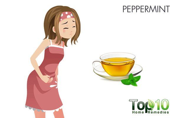 peppermint for stomach flu