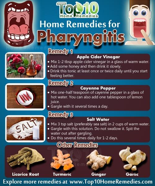 home remedies for pharyngitis