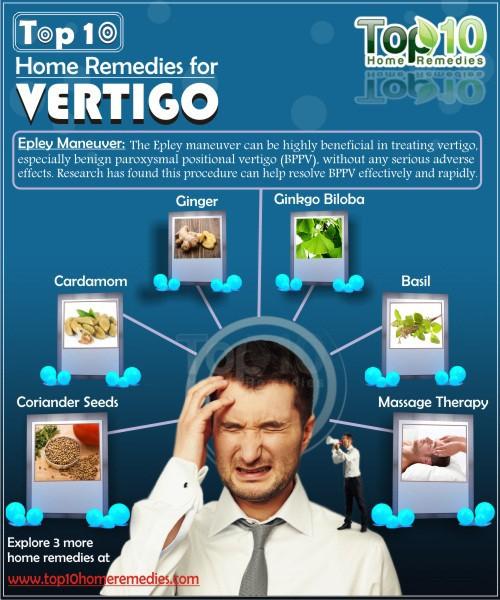Home Remedies for Vertigo | Top 10 Home Remedies