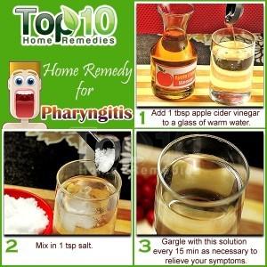 pharyngitis home remedy