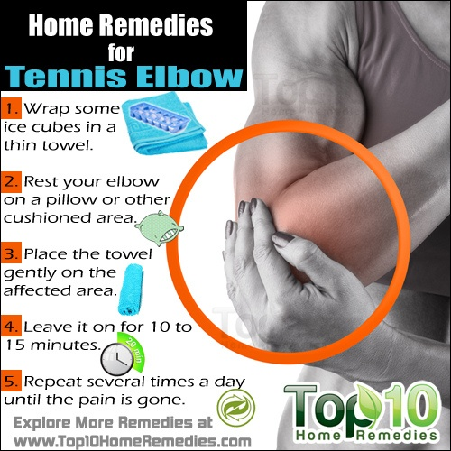Tennis elbow stretches