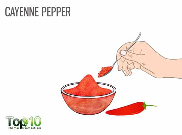 Use cayenne pepper for psoriasis