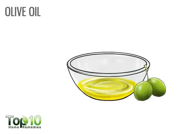 Use olive oil for psoriasis