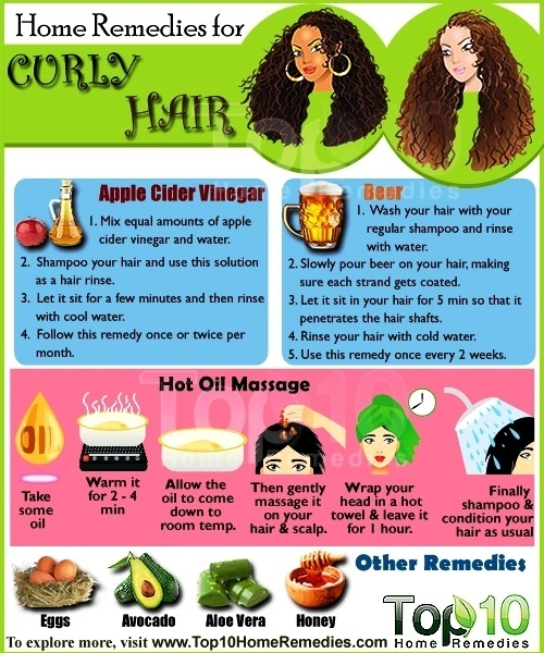 Home Remedies For Managing Curly Hair Top 10 Home Remedies