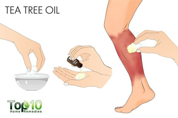 tea tree oil for cellulitis