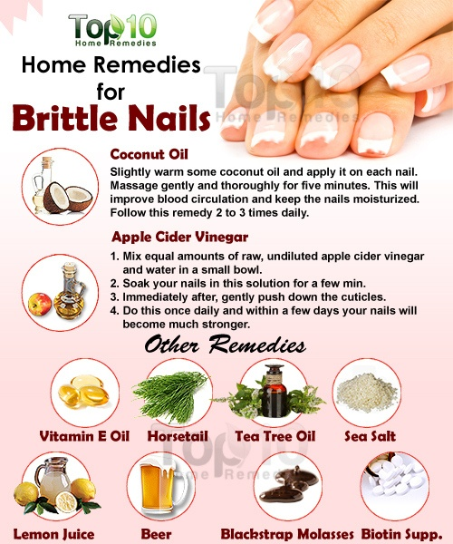 Home Remes For Brittle Nails