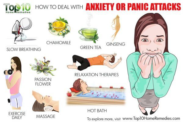how to deal with anxiety and panic attacks